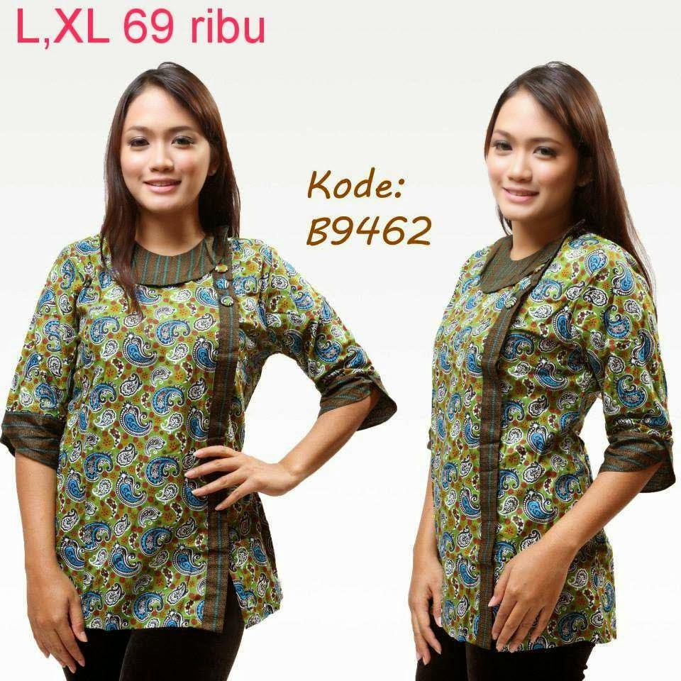 Model Batik Kerja Remaja Modern: Baju Batik Untuk Wanita Remaja
