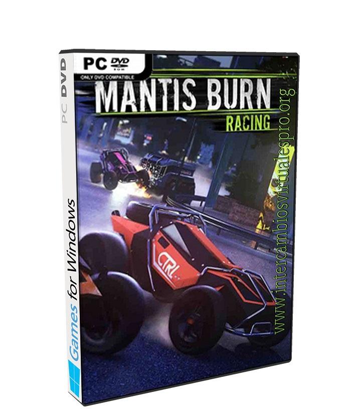 Mantis Burn Racing poster box cover