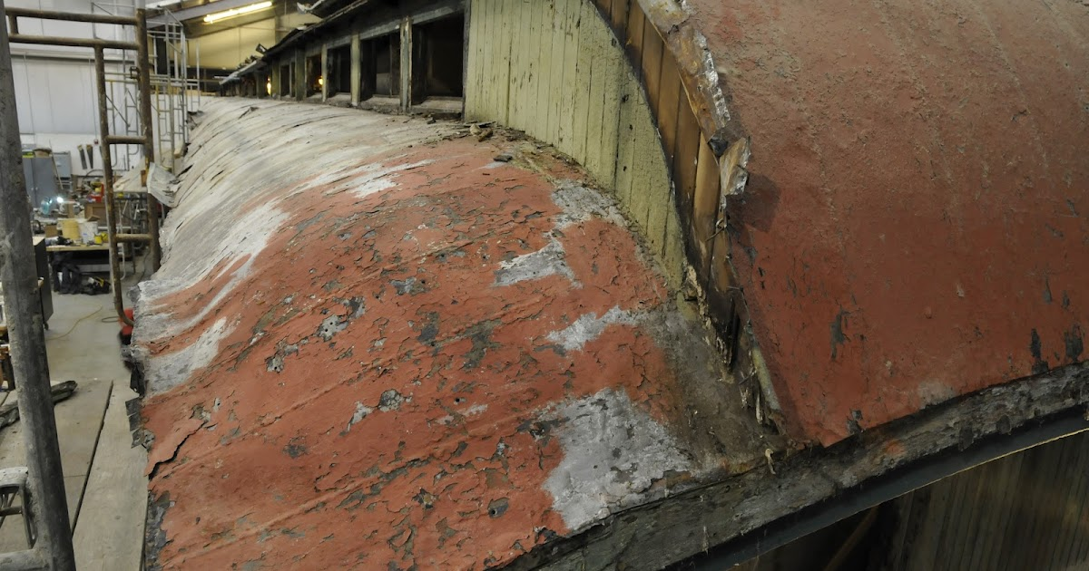 Northwest Railway Museum Blog Terne Over A New Roof