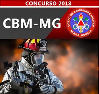 Concurso CBM-MG 2018 CFO