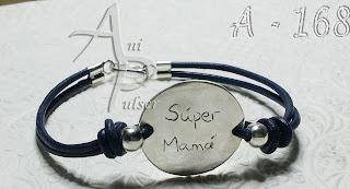 Pulseras  personalizadas para mamá o abuela