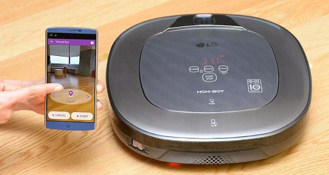 LG تحدث ثورة في مجال صناعة الأجهزة الروبوتية