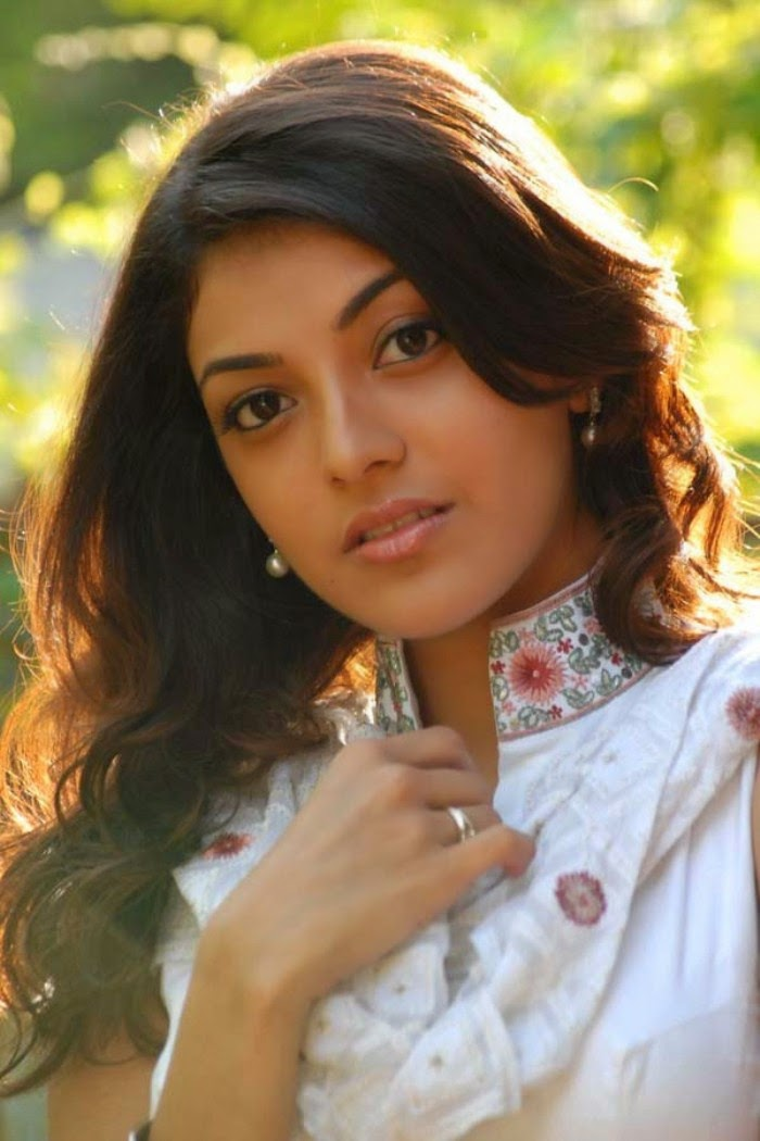 Hansika Motwani Cute Wallpapers Kajal Agarwal Hot Photos In White