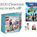LEGO Sets and Accessories Up to 90% off!