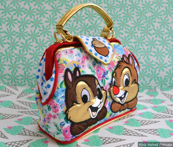 irregular choice disney chip n dale floral bag