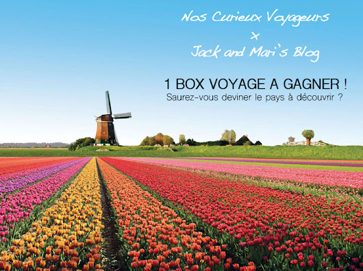 Concours : 1 box Voyage à gagner !
