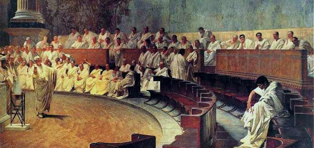 Senado y organizacion politica en Roma
