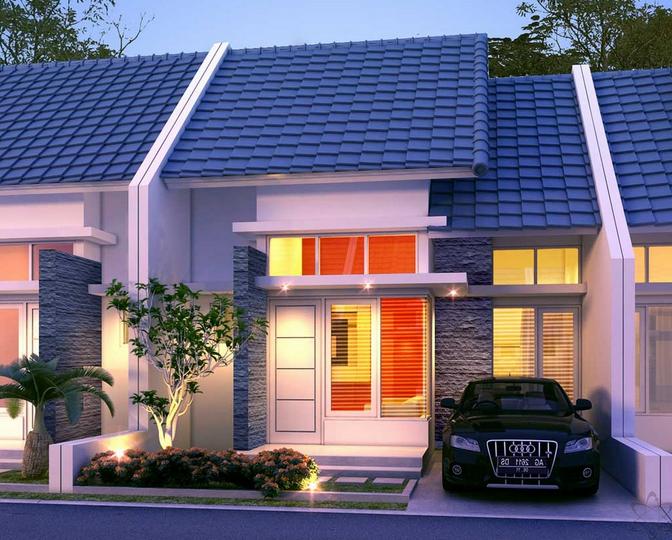 Model Rumah Minimalis Type 36 Terbaru 2018 - Desain Rumah