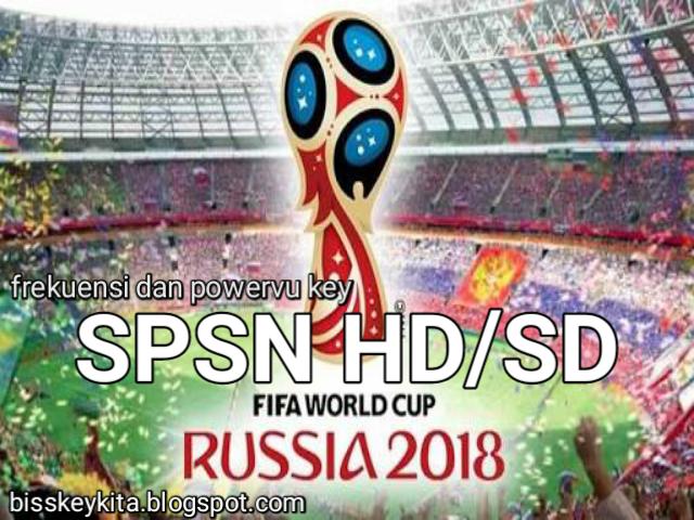 Frekuensi dan PowerVu Key SPSN HD/SD