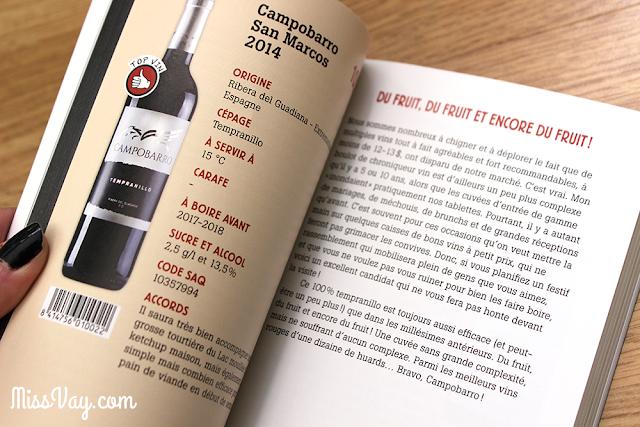 livre Philippe Lapeyrie 2017 guide vin Québec