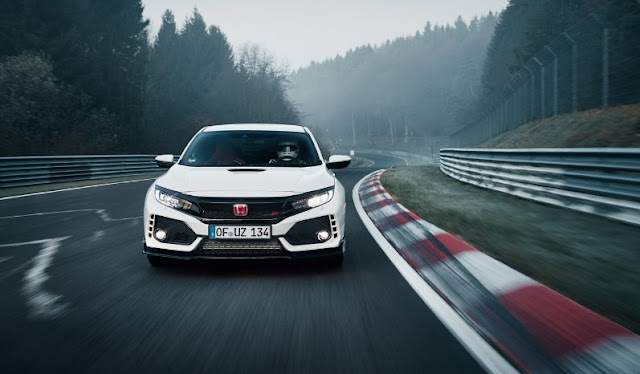 The Honda Civic Type R 2017 returns to be the king of the front in Nürburgring