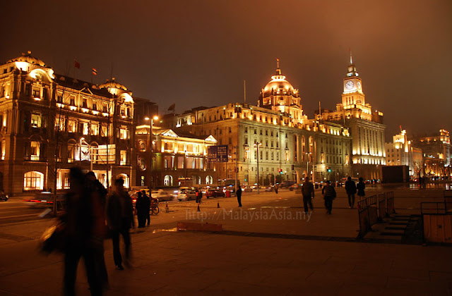 Photo of The Bund in Shanghai