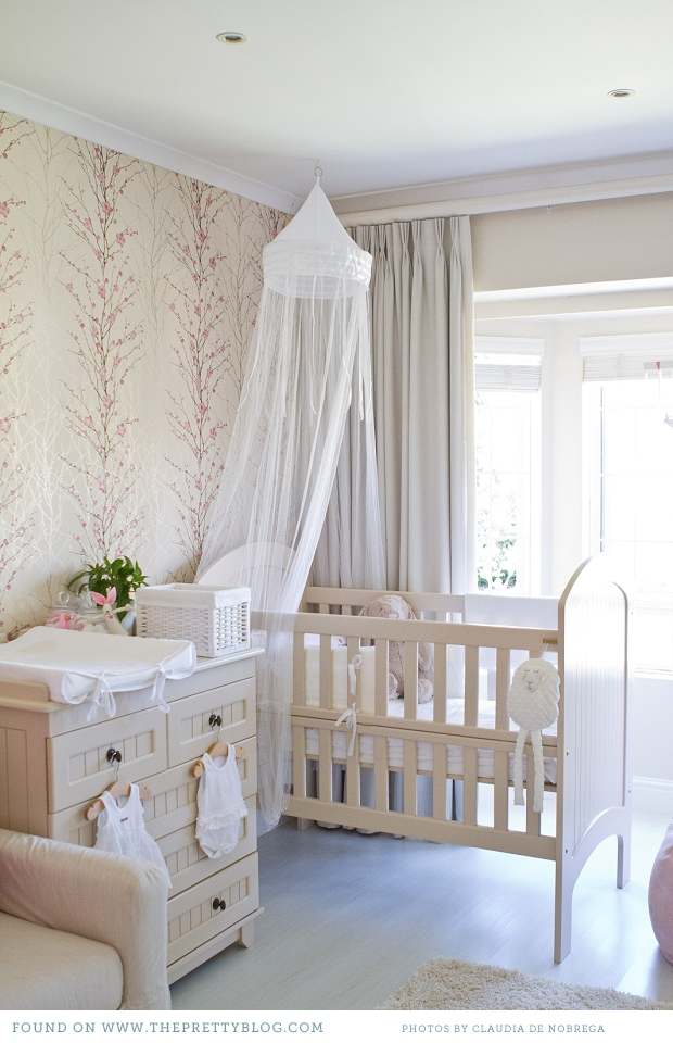 Enjoy Stepping Into This Bright And Beautiful Bunny Blossom Themed Nursery Fit For A Princess