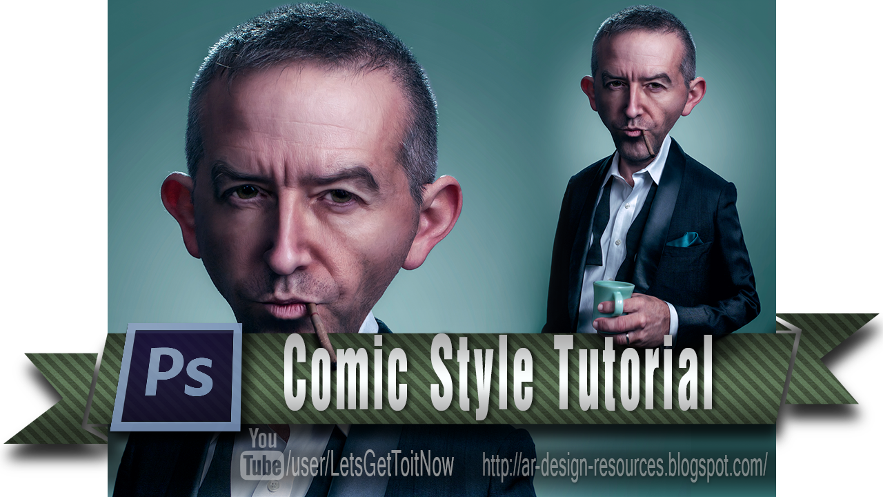 How to turn a regular picture to a Comic Style — Adobe Photoshop Tutorial