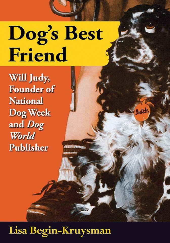 dogs, dog book, canine, dog history, will judy, dog week