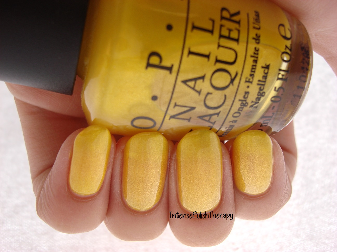 OPI - Lemonade Stand by your man