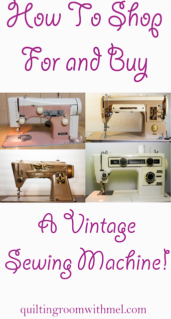 how to shop for and buy a vintage sewing machine
