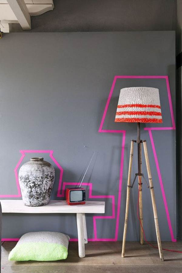 Ideas To Decorate Your Home With Washi Tape 9
