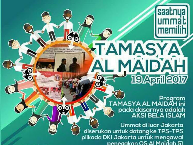 """""""Tamasya Al Maidah"""" di Pilkada DKI Putaran Kedua"""