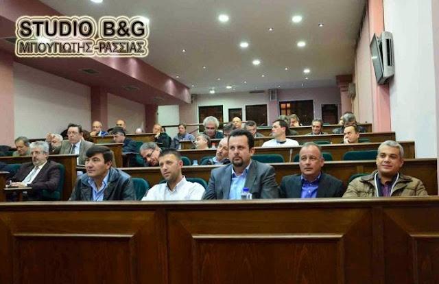 Δημοτικό Συμβούλιο στο Άργος με 19 θέματα