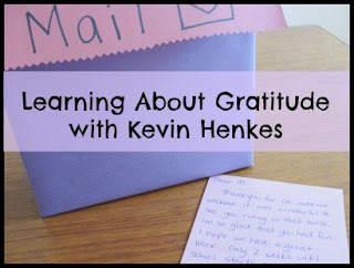 learning about gratitude