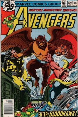 Avengers #179, Bloodhawk