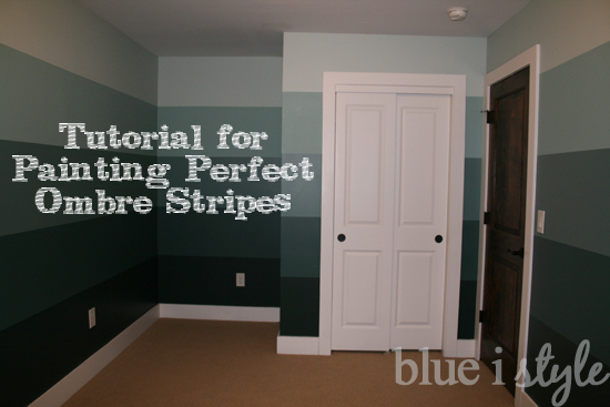 Decorating With Style Tutorial For Painting Perfect Ombre Wall