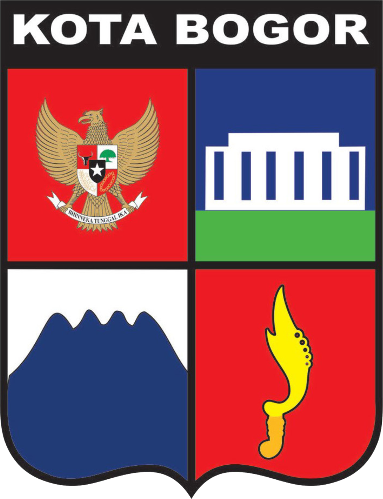 Logo Pemda Bogor : pemda, bogor, Lambang, Kabupaten, Bogor, Channel