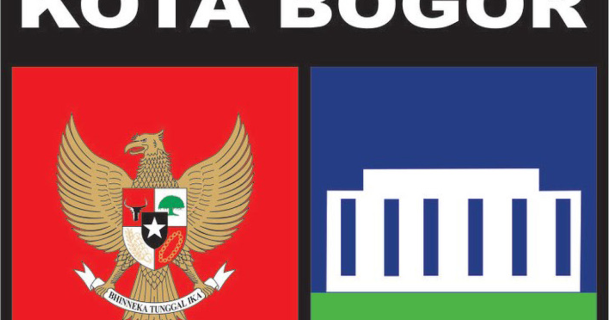23 Logo Kota Bogor Hitam Putih Gif