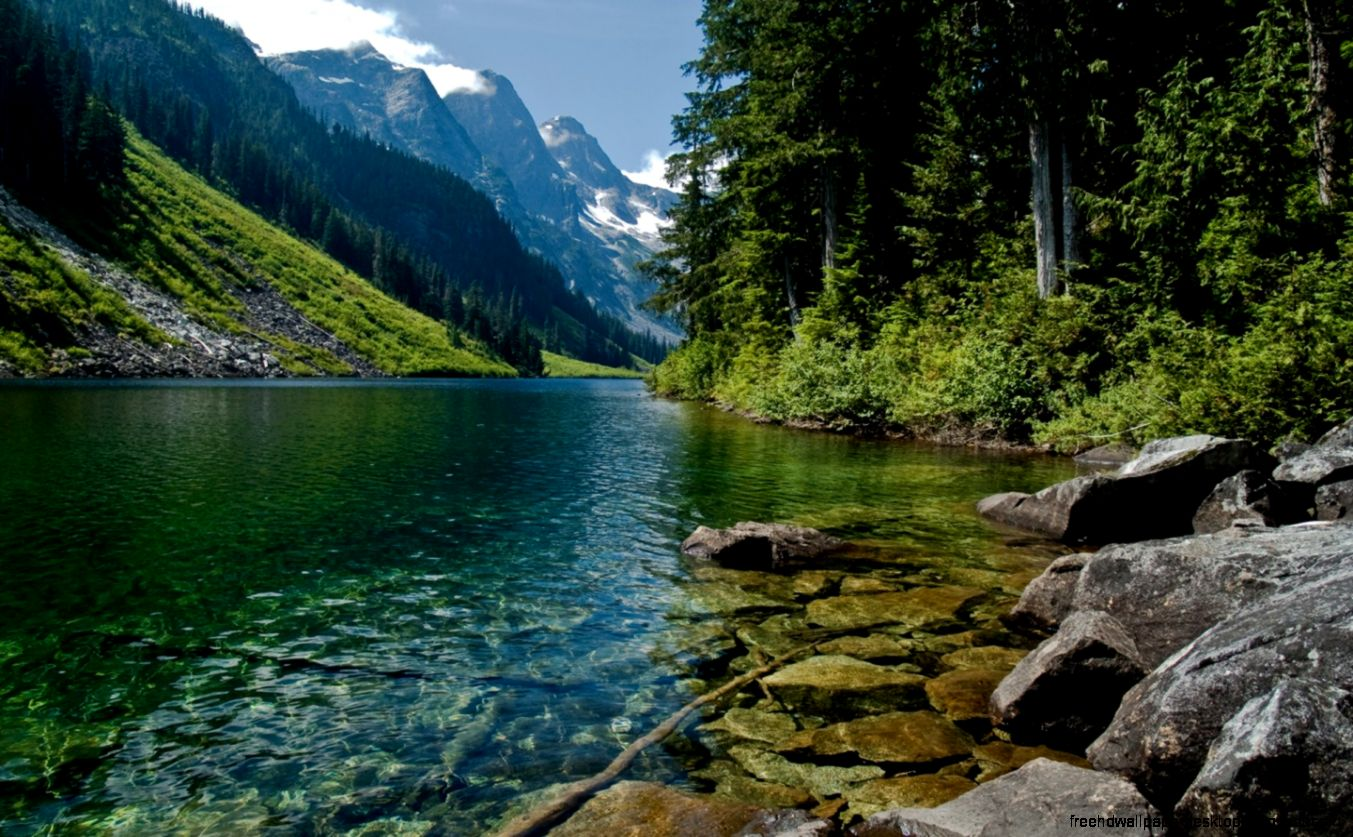 Nature Rivers Lakes Wallpaper Hd   Free High Definition ...