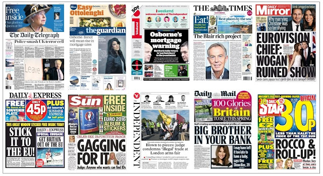 front pages 16-04-16