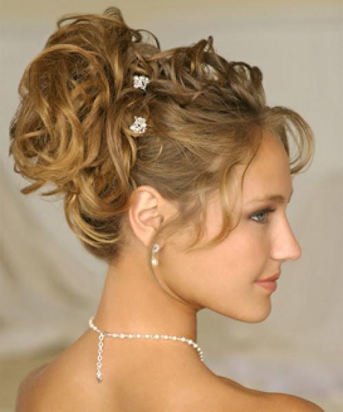New Elegant Updo Hairstyle