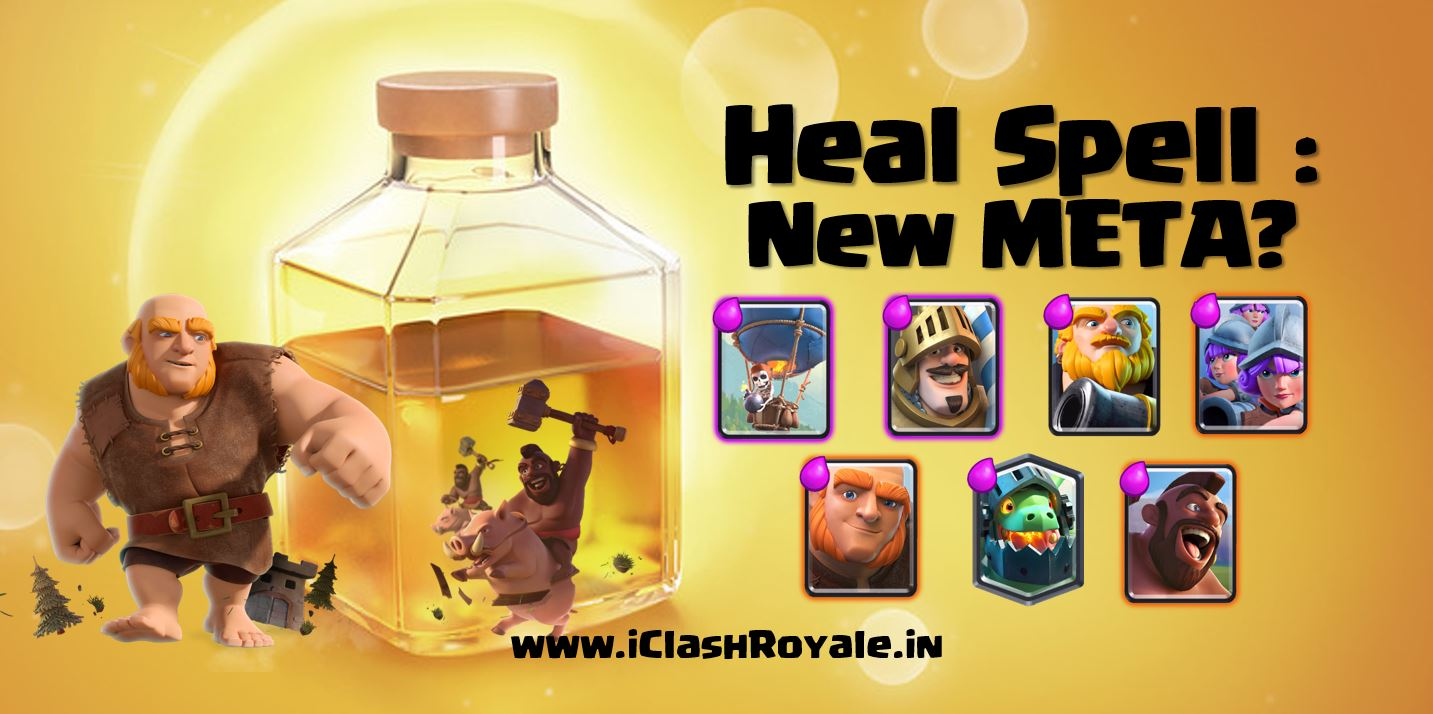 Heal_spell, Clash_Royale_heal_card