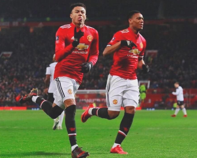 Lingard Manchester United