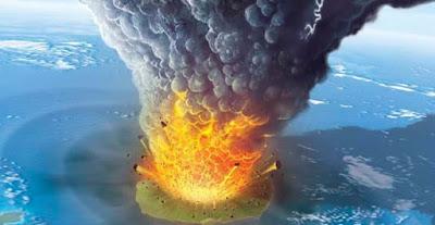 Vulcani giganti possibili eruzioni catastrofiche
