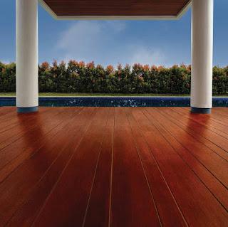 Contoh pemasangan lantai conwood