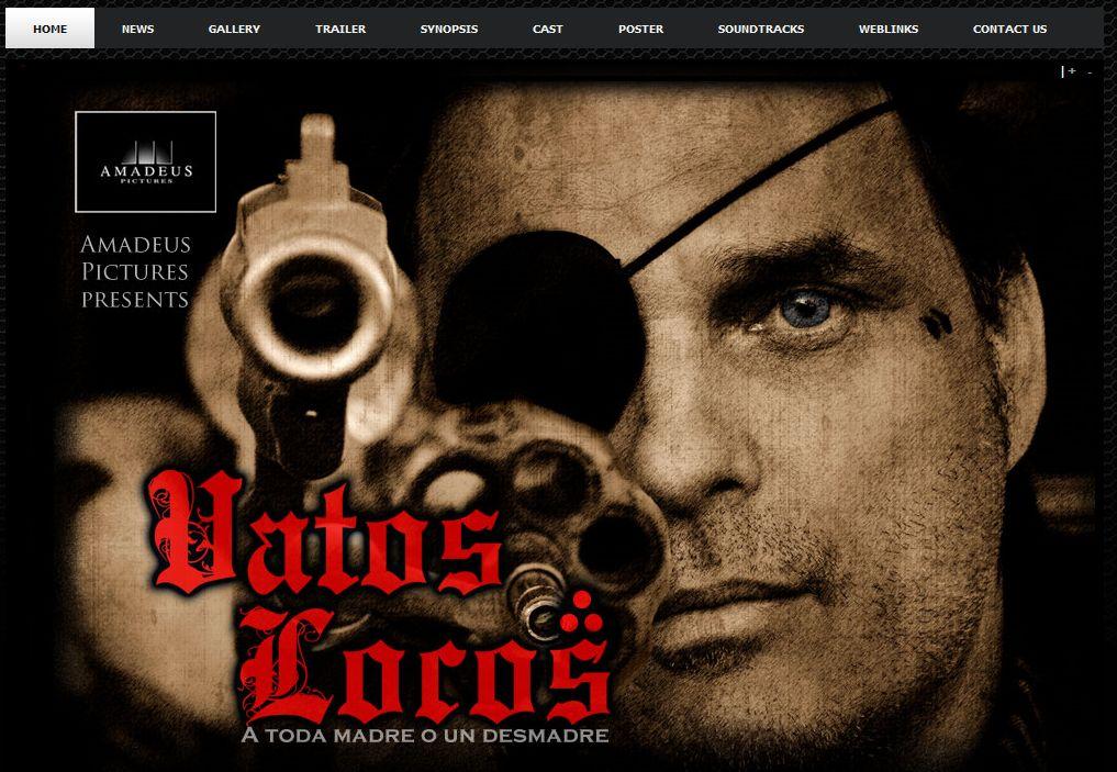 Web Site for Vatos Locos Movie