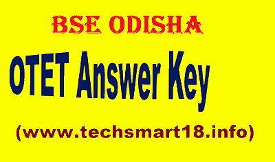 OTET Answer Key 2019