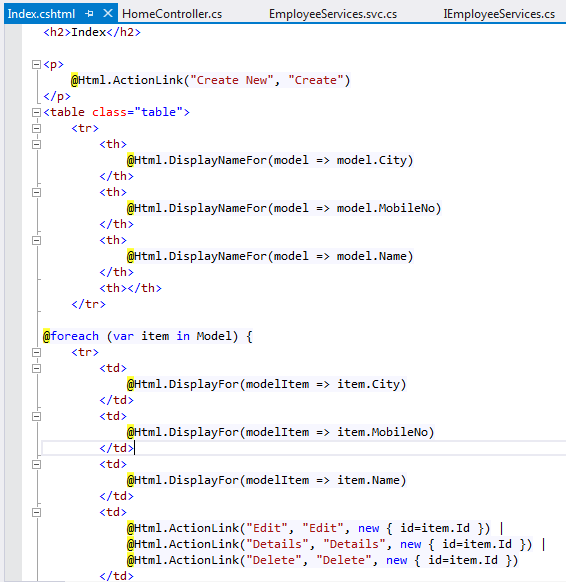 VIEW IN MVC