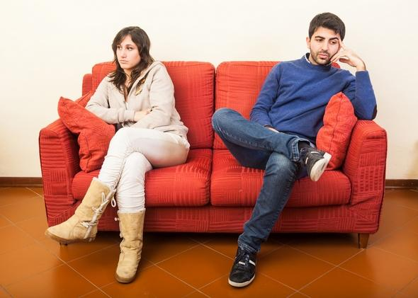 los desacuerdos de la pareja y los problemas que generan
