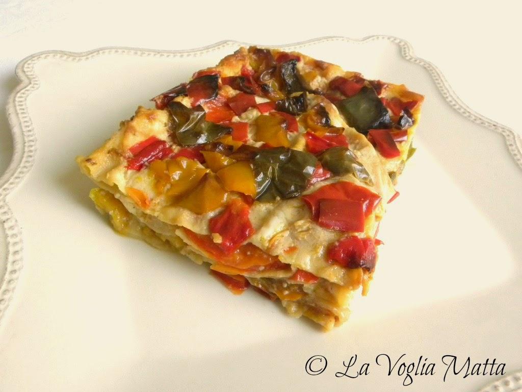 lasagne ai tre peperoni