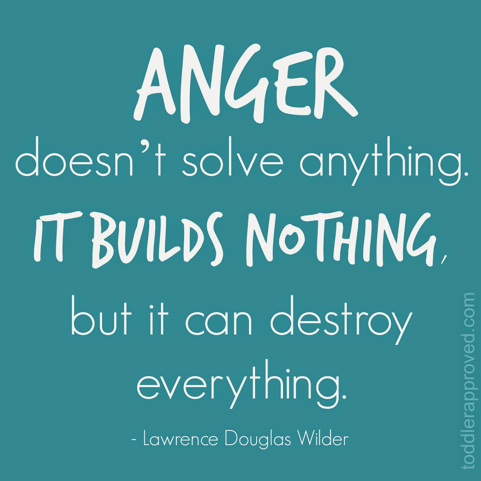 Quotes Regarding Anger: Toddler Approved!: Anger Resources For Parents