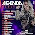 Agenda de Shows Março 2018 - Walkyria Santos