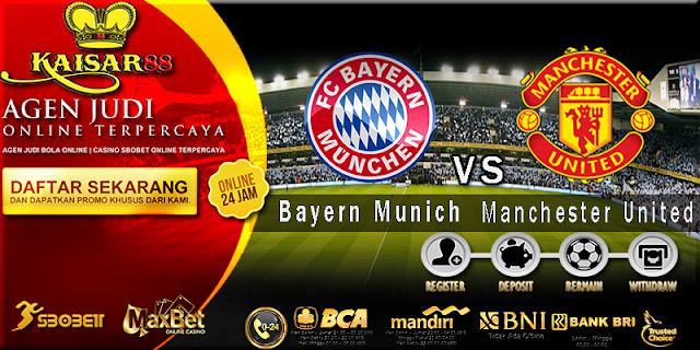 Prediksi Bola Jitu Bayern Munich vs Manchester United 6 Agustus 2018