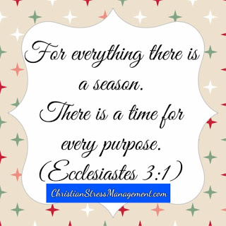 There is a time for every purpose Ecclesiastes 3