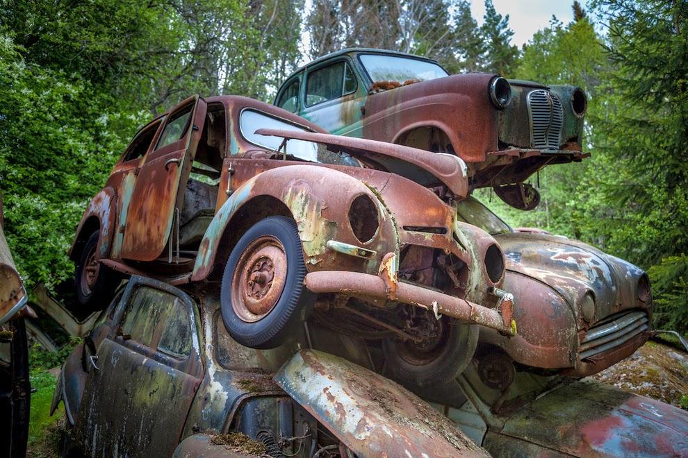 Pictorial Sweden S Forgotten Cars