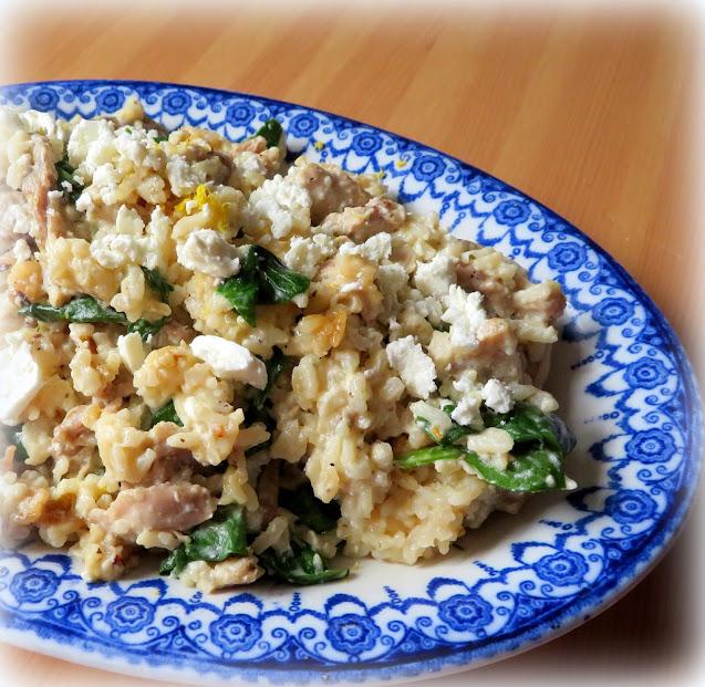 Lemony Chicken & Rice