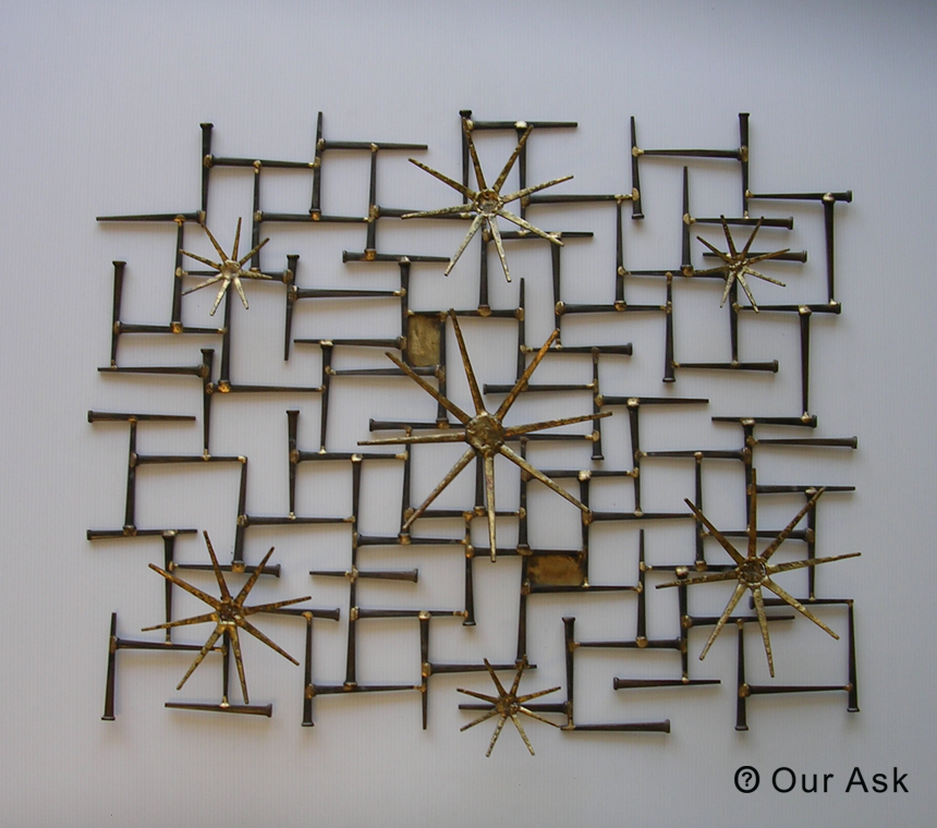 4 Eye Catching!!! Abstract Metal Wall Sculpture | Our Ask
