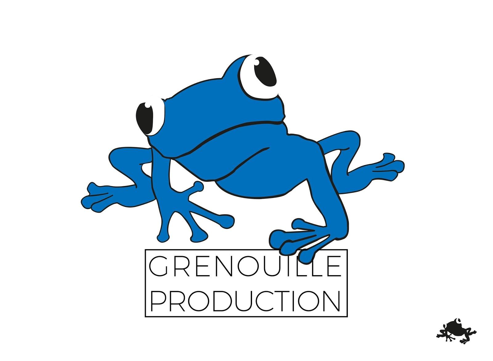 Logo Et Carte De Visite Pour La GRENOUILLE PRODUCTION