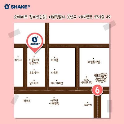 Korea/Seoul/ Itaewon: O-Shake